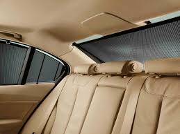 bmw genuine rear side window sun blind shade screen set f30 3