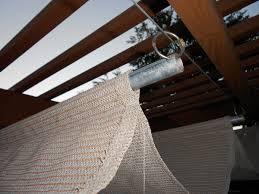 Retractable Pergola Shade by Learn How To Make And Install A Retractable Patio Shade Screen