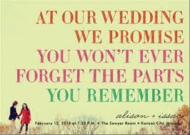 Fun Wedding Invitations Funny Wedding Invitation