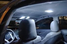 Car Led Interior Lights Led Interior Lights Ledglow 4 Piece Single Color Led Interior