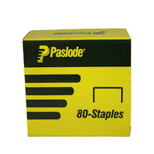 Paslode Upholstery Stapler Paslode 10 X 21ga Galvanised 80 Series Pneumatic Staple 20 000 Pack