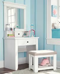 Mirrors For Girls Bedroom Enchanting Decorating Ideas Using Rectangular White Wooden