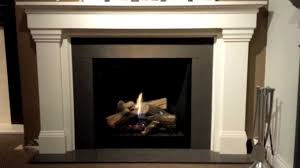 majestic mldv500 onyx direct vent gas fireplace youtube