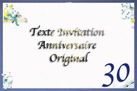 40 ans de mariage humour texte invitation anniversaire 30 ans original texte carte