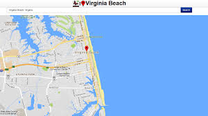 Virginia Beaches Map by Virginia Beach Map Android Apps On Google Play