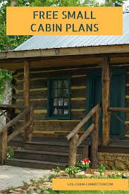 small log cabin plans small cabin plans