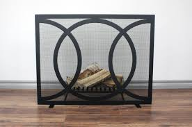 kloe fireplace screen 36