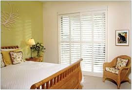 home design sliding glass doors with blinds shabbychic style