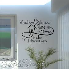 Family Room Decals Family Quotes The Simple Stencil - Family room wall quotes