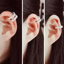 cartilage cuff earrings earring clip cartilage sles earring clip cartilage sles