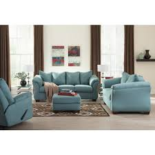 ashley furniture blue sofa ashley furniture darcy sofa amazing in sky local outlet wellsuited