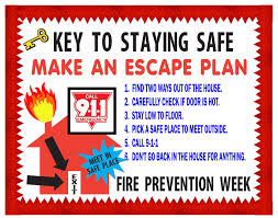 fire safety week do you have an escape plan artskills events