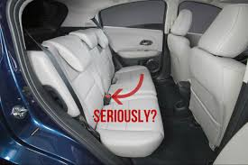 jeep backseat the 2016 honda hr v is honda u0027s worst current product