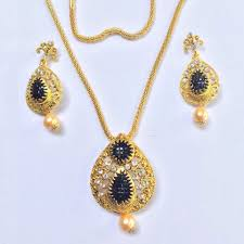 gold plated necklace images Designer party wear fashion jewellery bollywood gold plated jpg