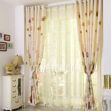 Cheap Girls Curtains Elegant Decorative Linen And Cotton Blended Cheap Curtains And Drapes