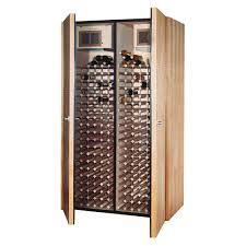 Temperature Controlled Wine Cellar - vinotemp 400 bottle wine cellar in medium walnut vino 600 2 the