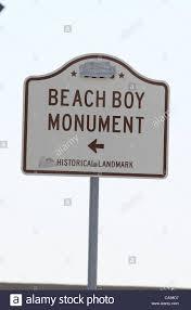 beach boys monument sign beach boys monument historical landmark