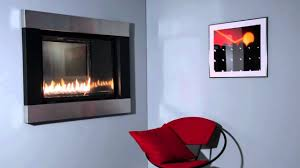 loft dv see through fireplace youtube