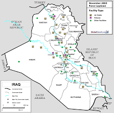 Military Bases In United States Map by Iraq Facilities