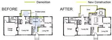 addition floor plans amazing kitchen additions remodeling by irene designs bathroom in