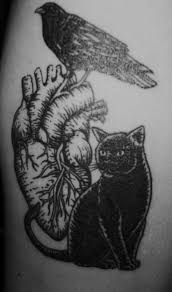 edgar allan poe raven tattoo designs pictures to pin on pinterest