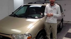 nissan quest sunroof video just in used 1999 nissan quest sunroof leather for sale