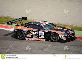aston martin racing team solaris motorsport aston martin vantage at monza editorial stock