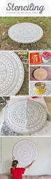 41 super cool ideas made with stencils diy joy