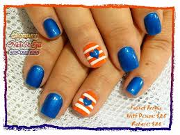 25 unique broncos nails ideas on pinterest denver broncos nails