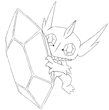 coloring pages mega evolved pokemon drawing coloringeast