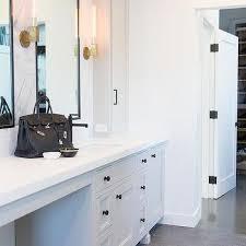 Framed Bathroom Vanity Mirrors by Thin Black Framed Bath Vanity Mirror Design Ideas