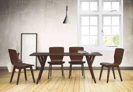 5 Piece Dining Sets Brayden Studio Slye Dark Walnut Bent Wood 5 Piece Dining Set
