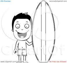 surfboard coloring pages print coloring pages