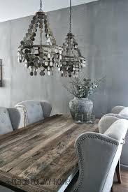 gray dining table ideas this was done in graphite and old white