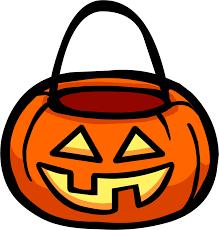 club penguin background halloween pumpkin pail clipart collection