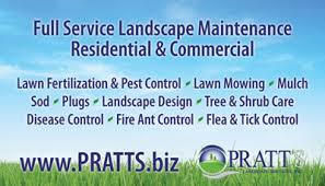 Business Cards For Tree Service Pratt Landscape Business Cards Freelance Graphic U0026 Web Design