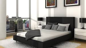 black and white and teal bedroom ideas blue curtain white bed