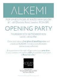 boutique inauguration invitation kaizo kaizoshoreditch twitter