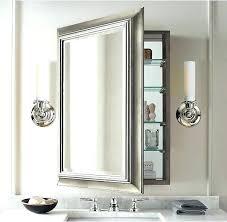 white framed recessed medicine cabinet frame recessed medicine cabinet full image for recessed wood