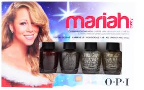 opi 4 pc holiday hits mariah carey mini set free shipping at nail