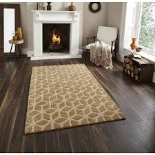rugs uk modern fusion fs04 beige rug by think rugs geometrical and contemporary