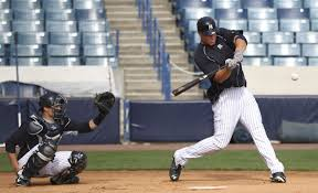 Yankees Prospect Showdown Aaron Judge Vs Gary Sanchez - judge n the talent printed in the stitches