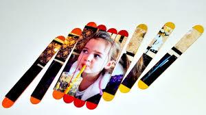 popsicle sticks photo puzzle art craft hacks diy ice cream kids
