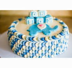 baby boy shower cakes without fondant decorating of party