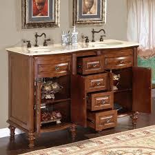 Narrow Vanity Table Bathroom Design Fabulous Narrow Double Vanity 60 Inch Intended For
