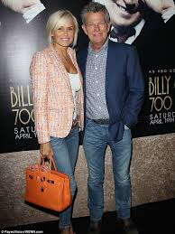 yolanda foster hair how to cut and style yolanda foster and husband david cuddle up at hbo event in los