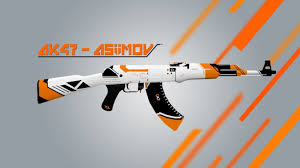 Flag With Ak 47 Cs Go Ak 47 Asiimov Counter Strike 1 6 Skin Mods