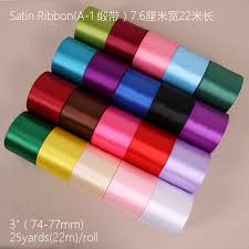 wide satin ribbon wholesale 50mm wide decorative satin ribbon for gift packing with