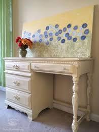 Chalk Paint Desk by Chalk Paint Desk Decoupage Southern Belle Chic Pinterest