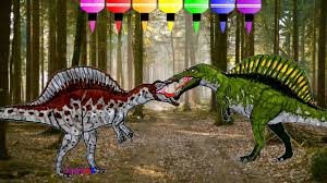 how to draw dinosaurs for kids coloring u0026 spinosaurus vs